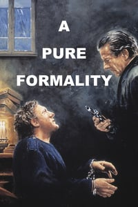 Nonton Film A Pure Formality (1994) Subtitle Indonesia Streaming Movie Download