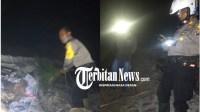 Terjadi Kebakaran Lahan, Kapolsek AKP Sahrial Sirait Turun Langsung Ke TKP