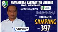 Pemerintah Kecamatan Jrengik Ucapkan Dirgahayu Sampang ke-397