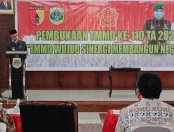 Program TMMD Fokus di Pembangunan 64 RTLH di Bondowoso