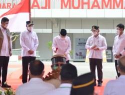 Kunjungi Provinsi Kalteng, Wakil Presiden RI Resmikan Bandara H. Muhammad Sidik Muara Teweh