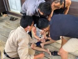 Mencoba Kabur, Satresnarkoba Polres Mura Tangkap Residivis Bersama 7 Paket Sabu