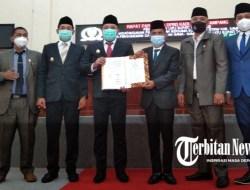DPRD Gelar Paripurna LKPJ dan Tetapkan Nama-nama Pansus LKPJ Bupati Sampang 2020