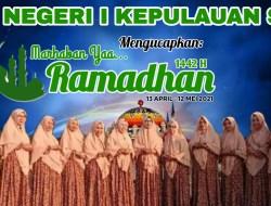 SMA Negeri I Kepsul Mengucapkan  Selamat Datang Bulan Suci Ramadhan 1442 H
