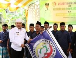 Bupati Sampang Hadiri Pelantikan Pengurus Sandal Jepit Indonesia dan Penyaluran 1000 Al-Qur'an