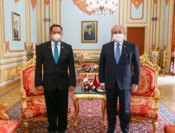 Ketua MPR RI dan Ketua Parlemen Turki Minta PBB Keluarkan Resolusi Hentikan Agresi Israel ke Palestina