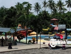 Masuk Zona Oranye, Pikatan Water Park Ditutup