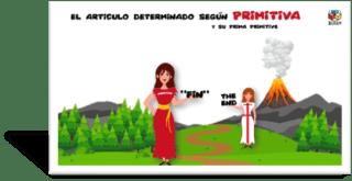 Artículo determinado inglés/español