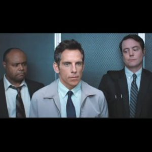 Terence Bernie Hines Secret Life of Walter Mitty elevator scene