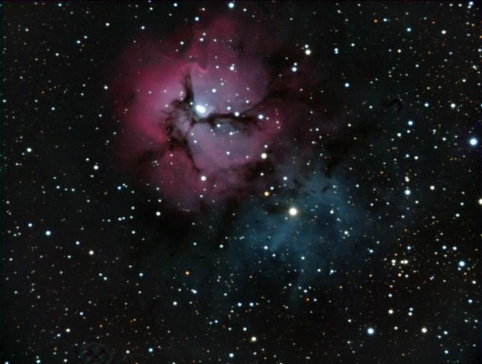 M20 Trifid Nebula Celestron EdgeHD Tanner Street Observatory 30perc
