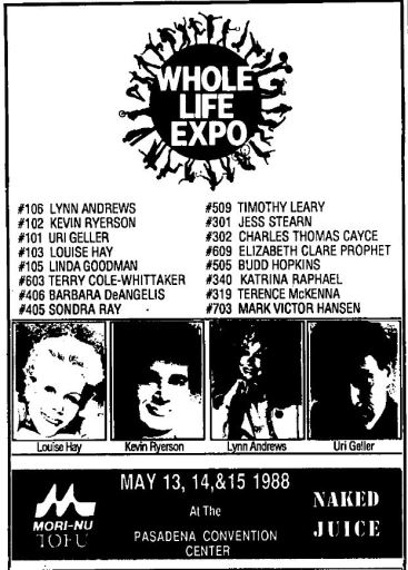 1988 - Los Angeles Times (Apr 24) - Whole Life Expo Ad 01