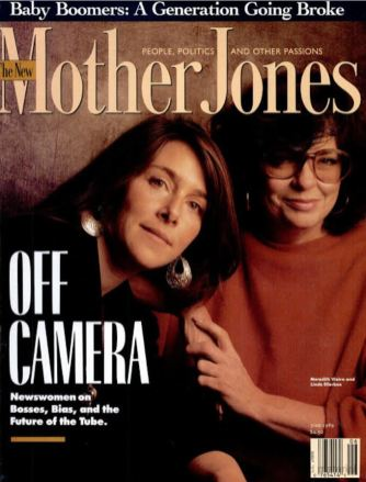 1989 - Mother Jones (Jun) Cover