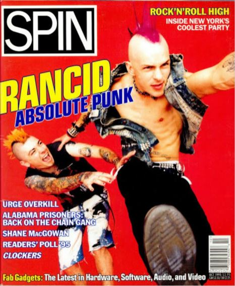 1995 - SPIN (Oct) Cover