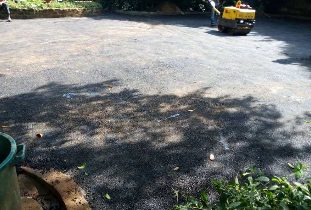 terenom engineering at munyonyo home tarmac and garden paver project1