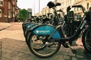 Bike sharing in London