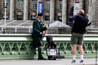 Street performer or true Scottish?