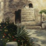 The Garden Tomb oil painting