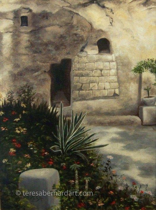 Garden of Gethsemane Israel painting