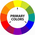 primary colors on the color wheel