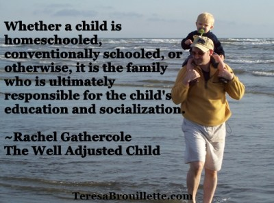 Homeschooling: On Socialization