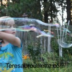 Best homemade bubbles ever!