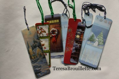 Transform greeting cards into beautiful bookmarks