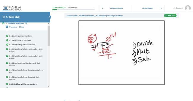 Math and Algebra