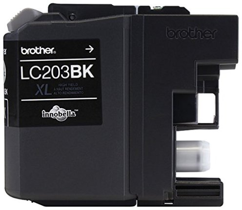 Brother-Printer-LC203BK-High-Yield-Ink-Cartridge-Black-0