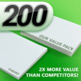 Crystal-Clear-200-Pieces-Universal-Thermal-Laminating-Pouches-0-1