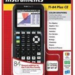 Texas-Instruments: TI-84 Plus CE-Graphing Calculator, Black