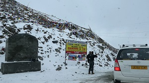 Khardung la Pass, Ladakh, India