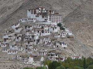 Beautiful Monastery complex in the Valley