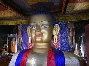 Buddha Statue near Leh