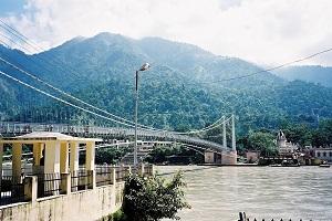 Ram Jula - Rishikesh bridge 2003