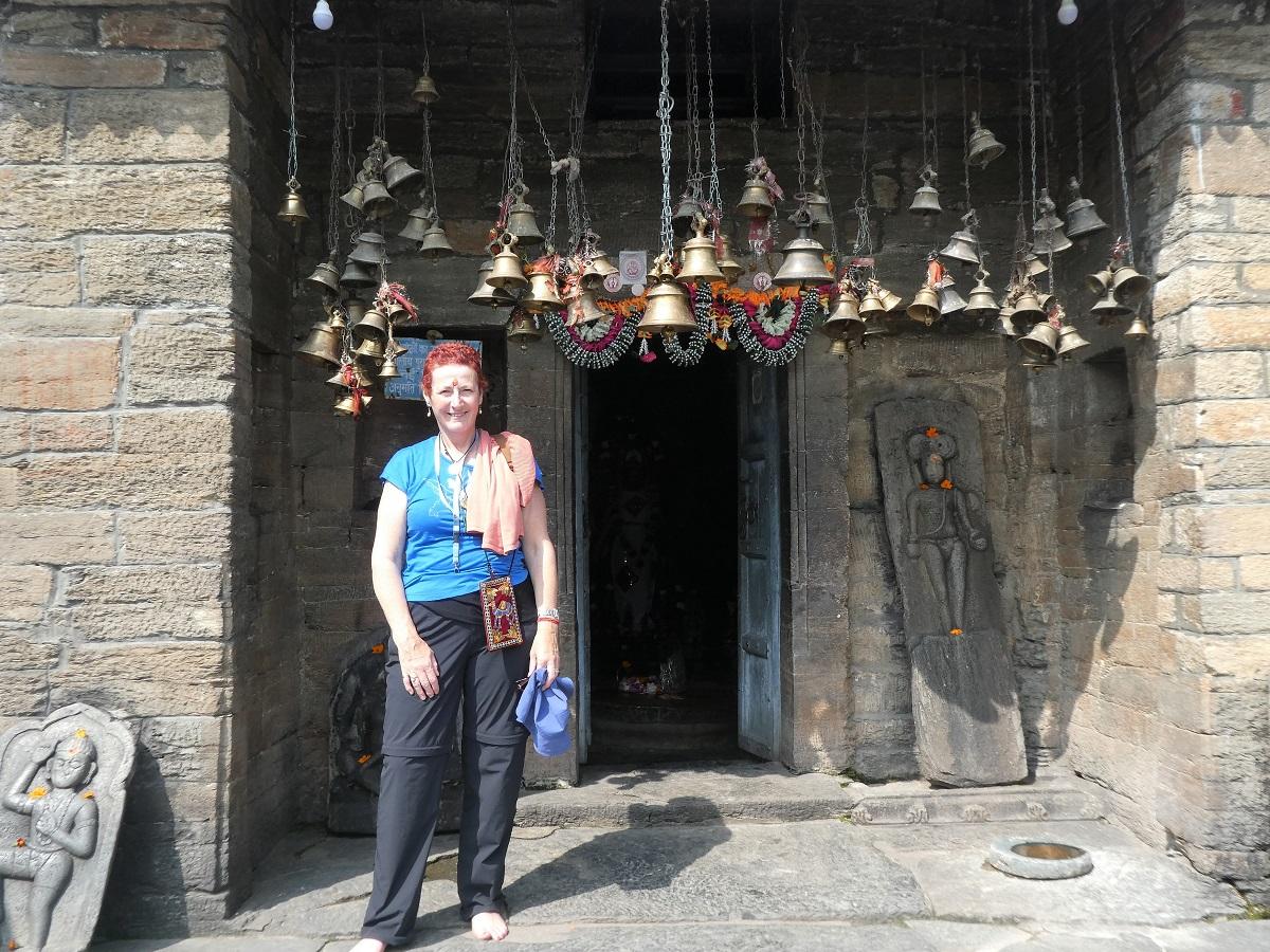 At Baijnath temple, India