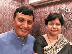 Suresh and Kumid in Delhi