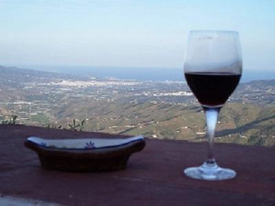From Comares towards Velez Malaga and the coast 1