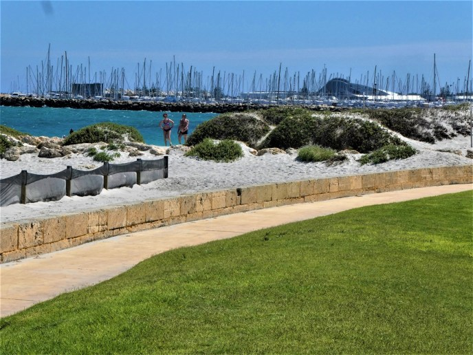 The yachts in Port Fremantle
