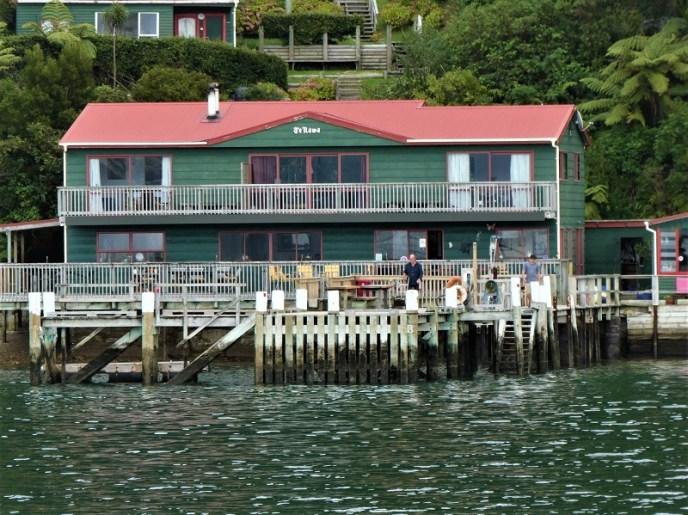 Te Rawa Retreat wharf