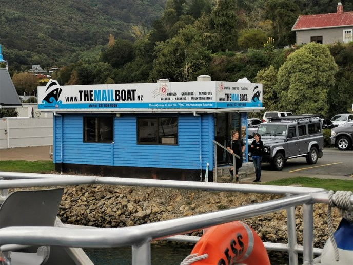 The 'Mail Boat' office