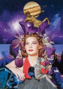 Teresa Goodin | Sagittarius - The Explorer | Handcrafted collage | 210mm x 297mm | 2019