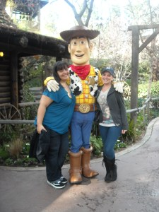 Woody was such a gentleman!
