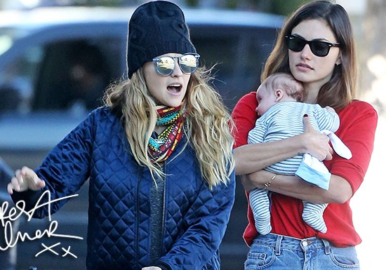 Teresa out with Phoebe Tonkin