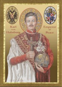 Bl. Karl of Austria-Hungary Prayer Card