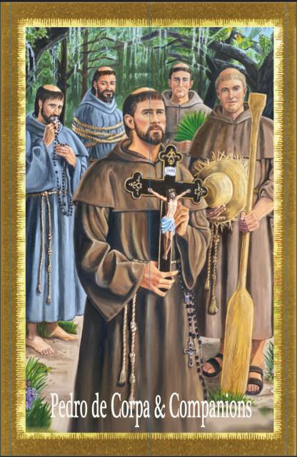 5 GA Martyrs Prayer Card
