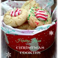 Hershey Peppermint Kiss Cookies