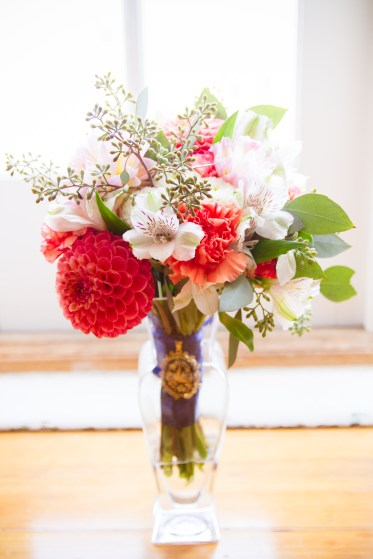 Bridal Bouquet by Teresa Soleau - photo by Lisa Marie photography