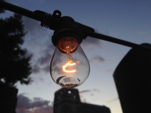Mystery Writer's Lightbulb