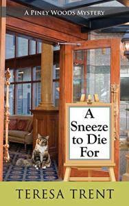 Book Cover: A Sneeze to Die For