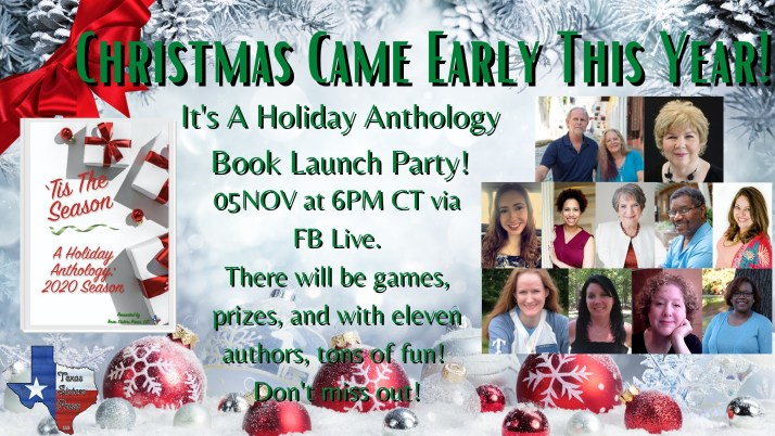'Tis the Season Holiday Anthology Book Launch Party